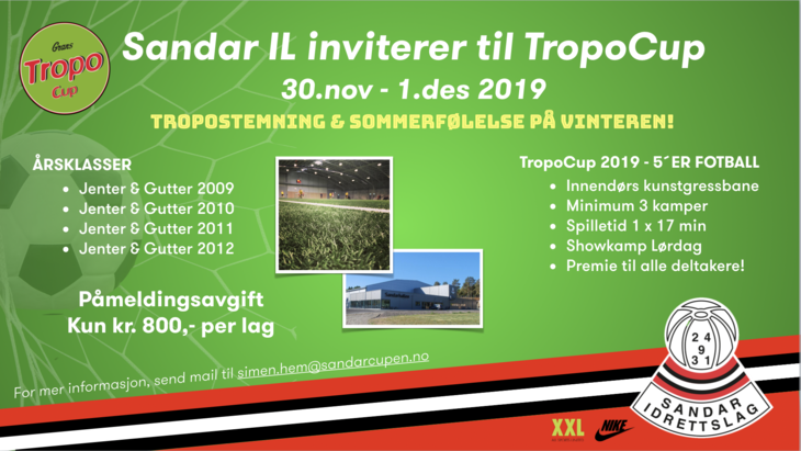 TropoCup 2019