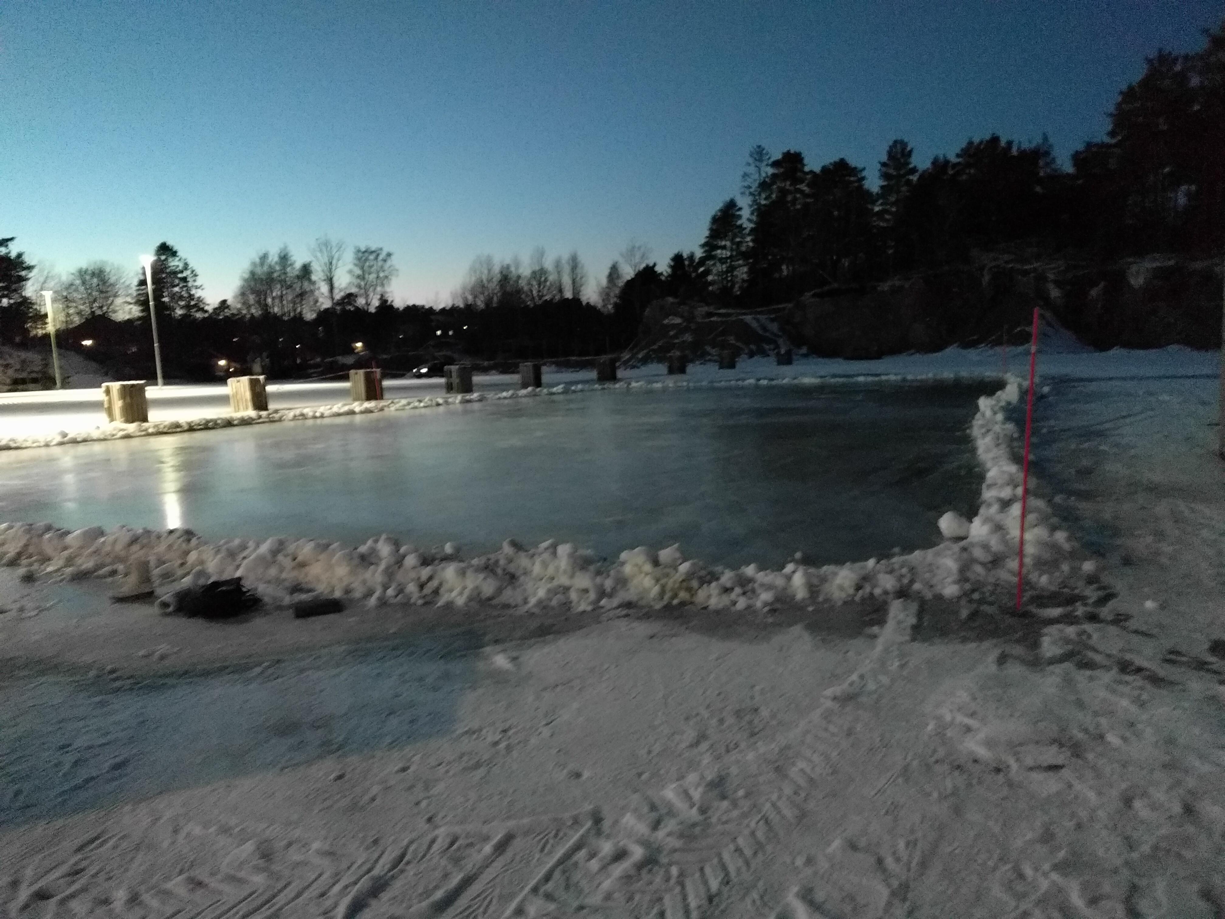 Skyøteis Vesterøya Idrettsprak
