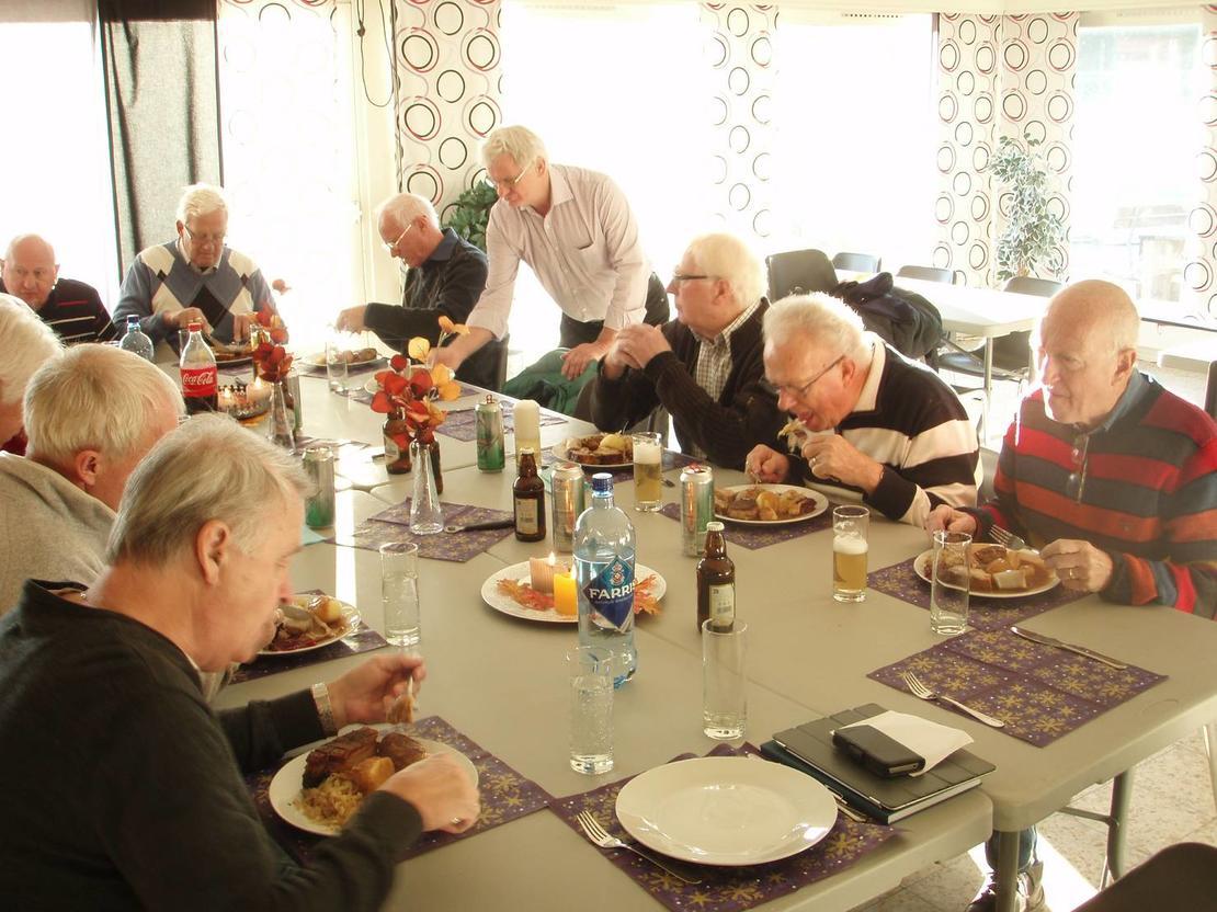 Seniorgruppa Sandar IL - juletreff 2014